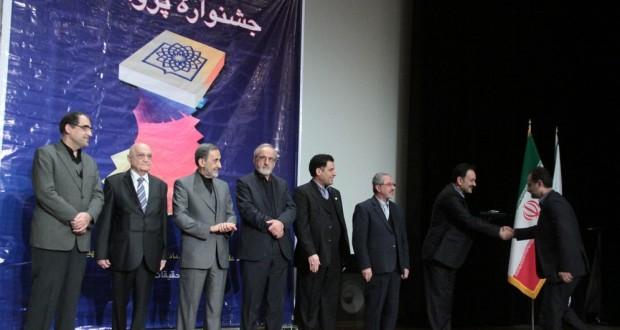 انتخاب دکتر نیک نژاد بعنوان پژوهشگر برتر جشنواره پژوهشی